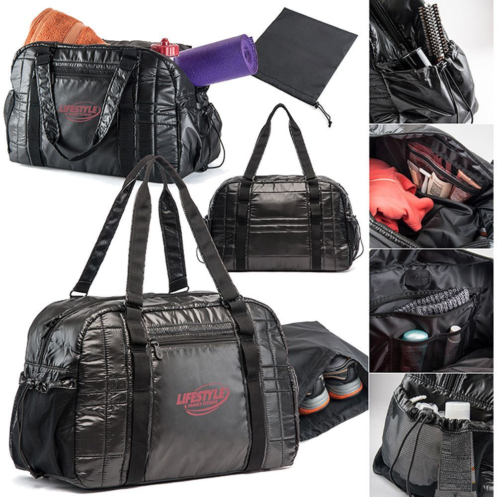 Get-Fit Gym Duffel - Personalization Available