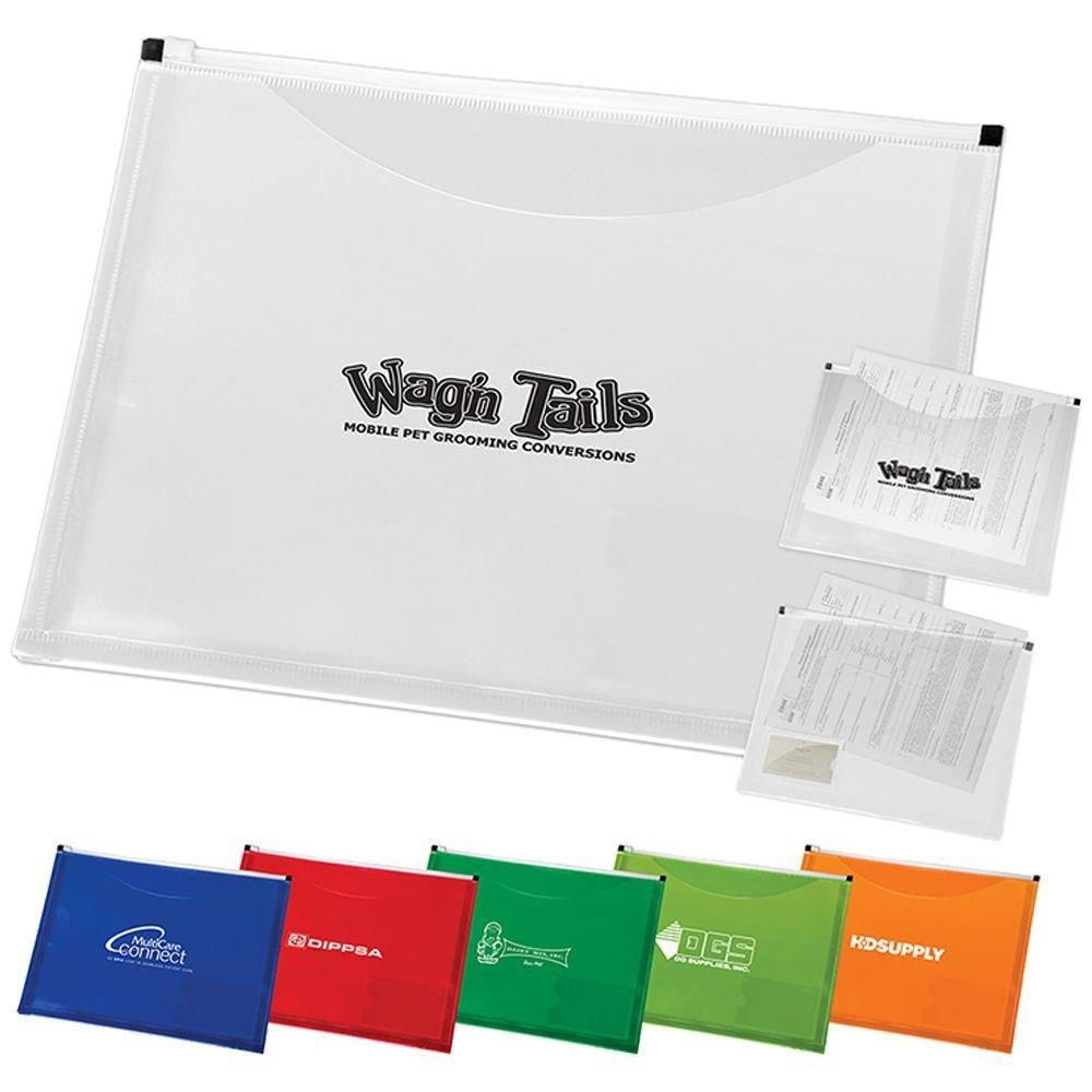 Zip-It Travel Pocket Portfolio - Personalization Available