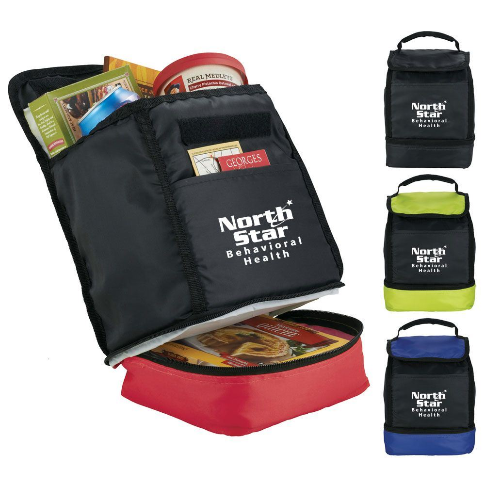 The Daily Dual Compartment Lunch Cooler - Personalization Available