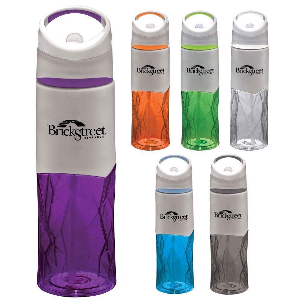 Geometric BPA-Free Sport Bottle 28-oz. - Personalization Available