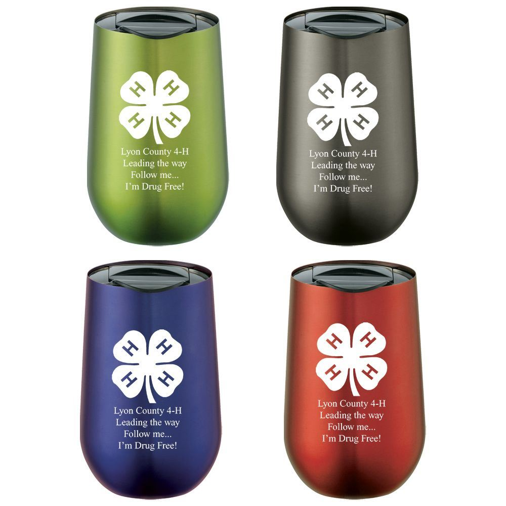 Clarity Drop Tumbler 14-oz. - Personalization Available