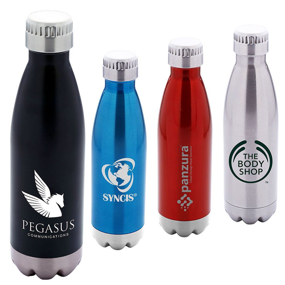 Camper Stainless Steel Curv Bottle 17-oz. - Personalization Available
