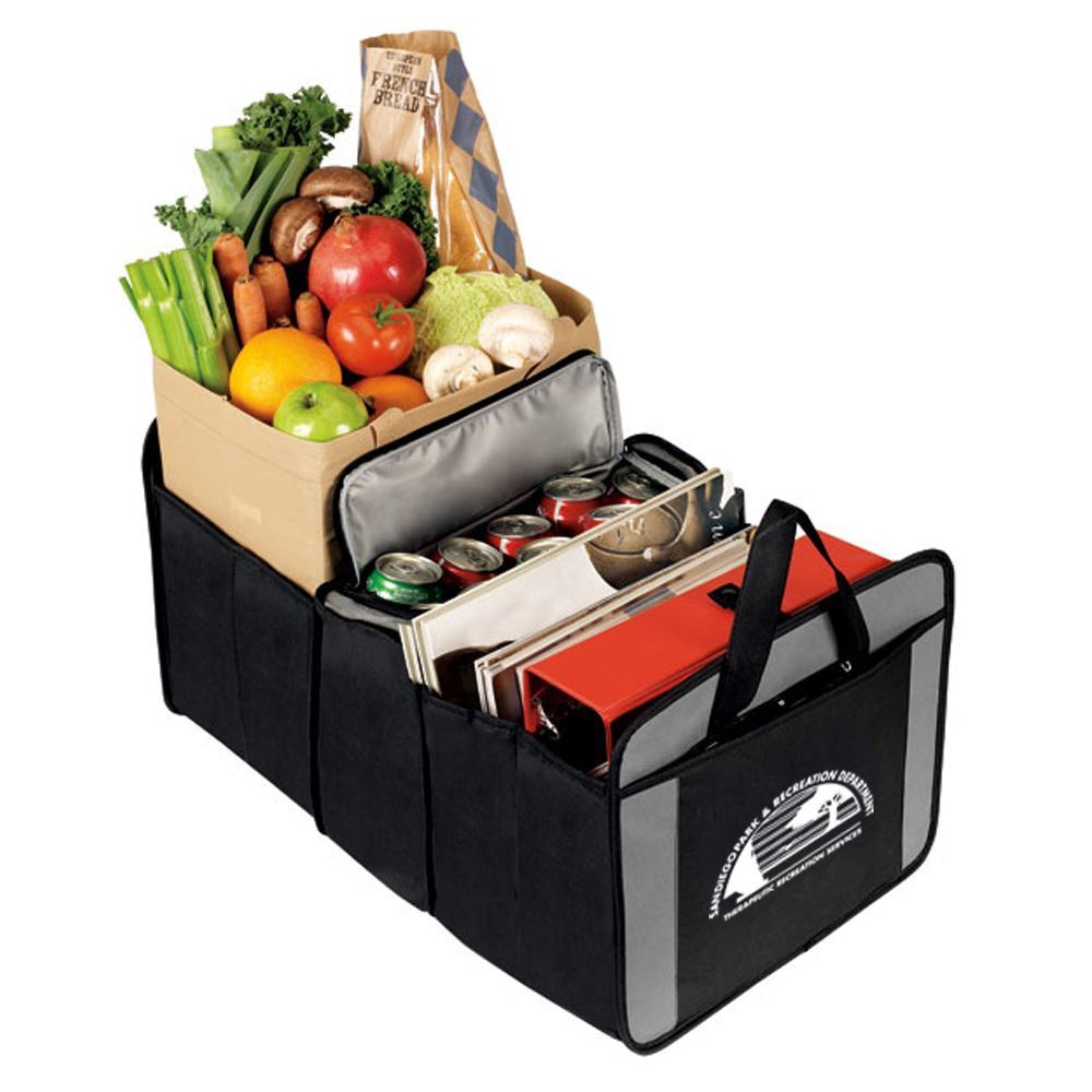 20 Can Cooler/Trunk Organizer - Personalization Available