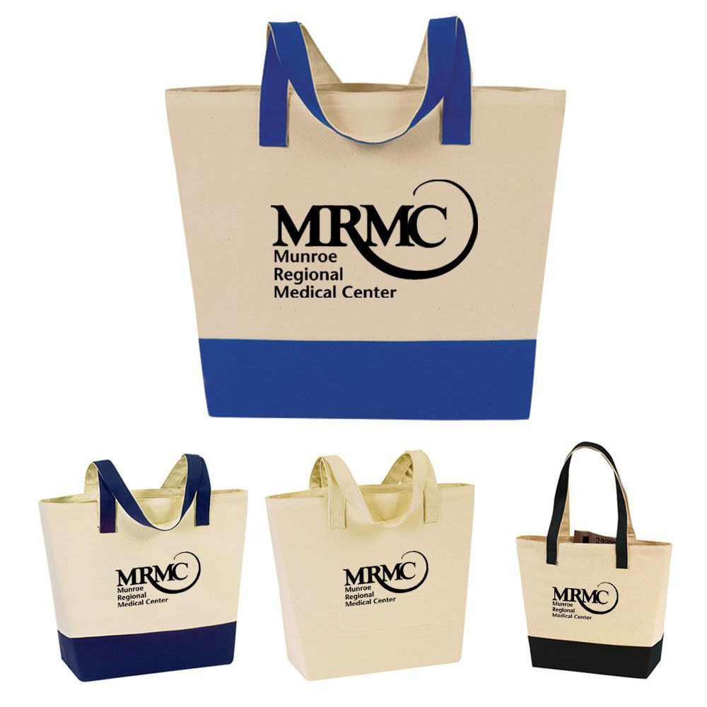 eGREEN Canvas Meeting Tote - Personalization Available