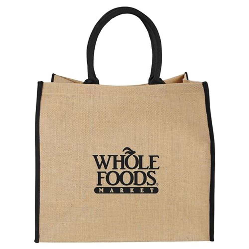 The Large Jute Tote - Personalization Available