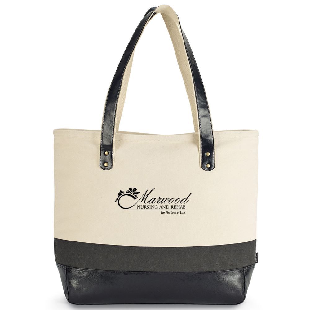 Kinsley Cotton Tote - Personalization Available