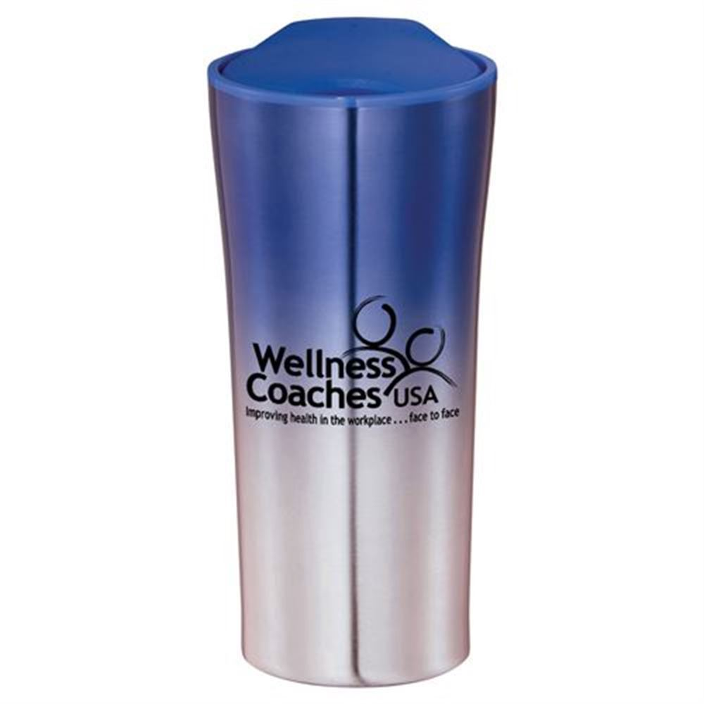 Swivel Lid Stainless Tumbler 18-oz. - Personalization Available