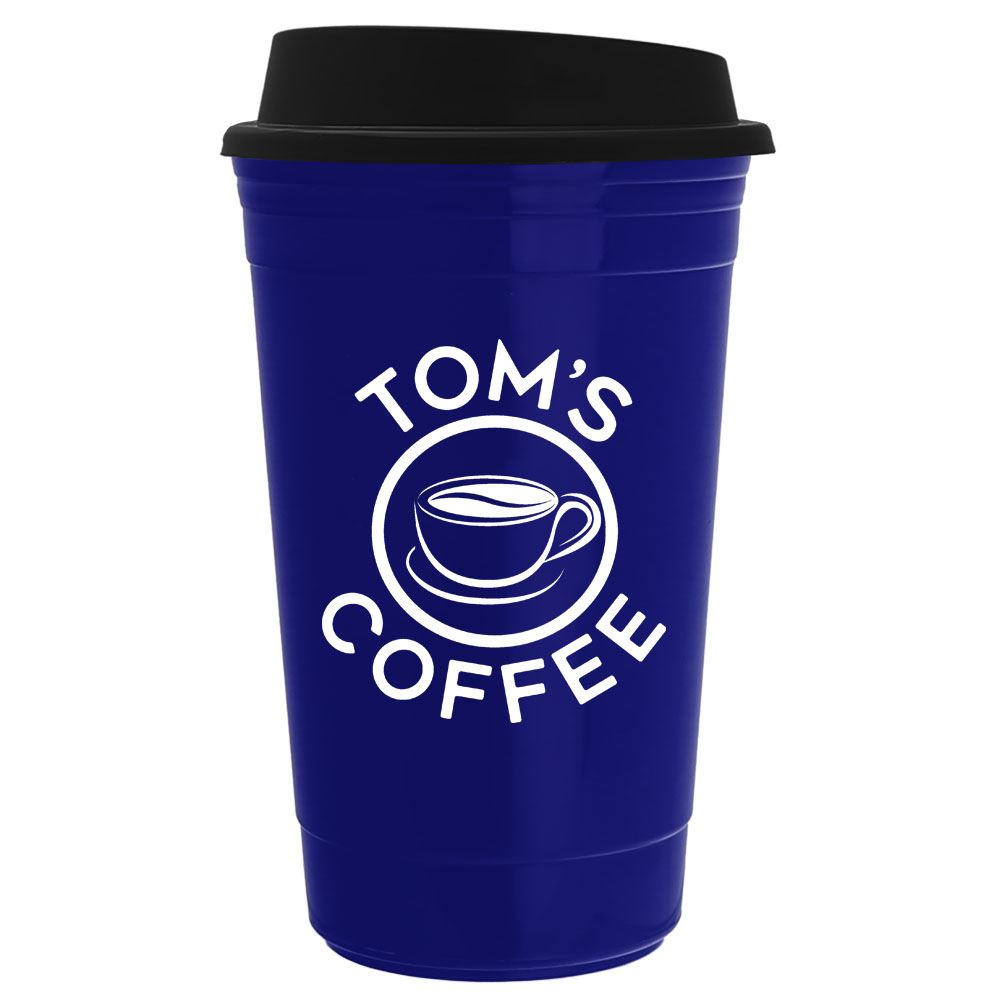 The Traveler  Insulated Cup 14-oz.- Personalization Available