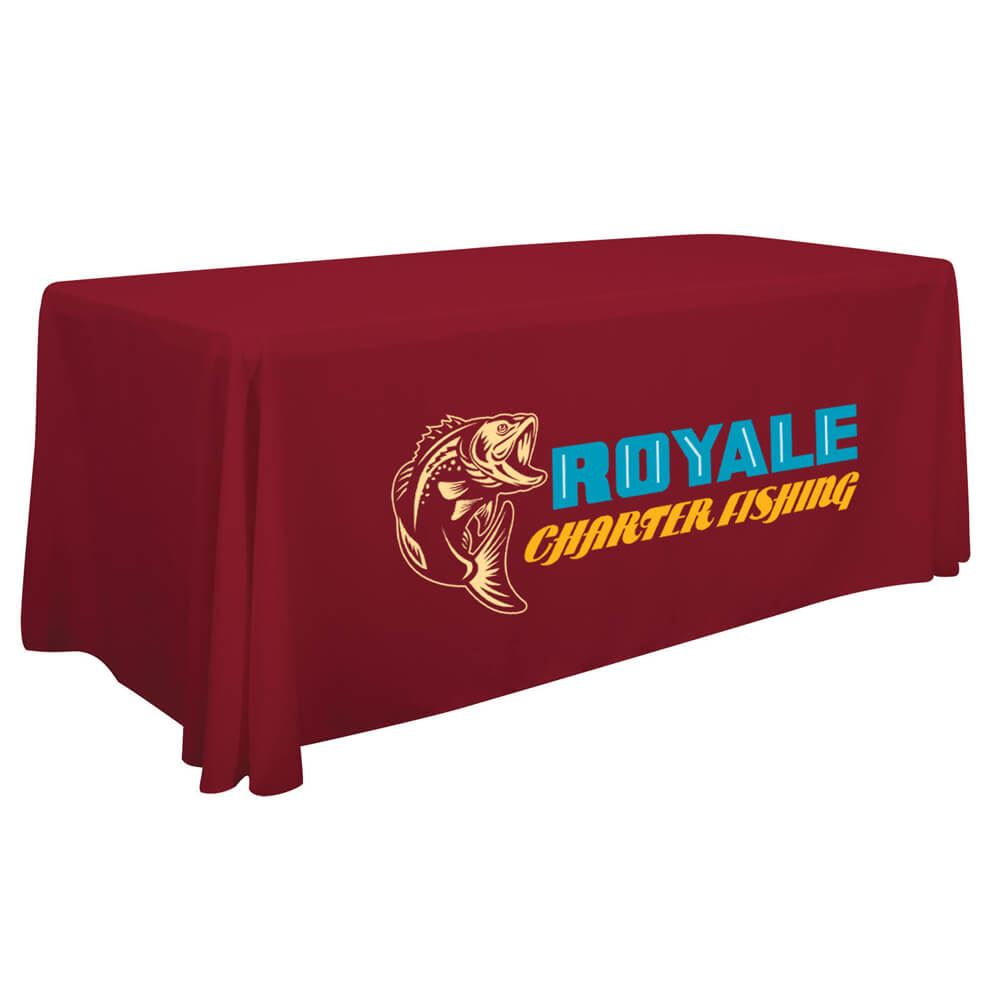 8' Economy Full-Color Throw - Personalization Available