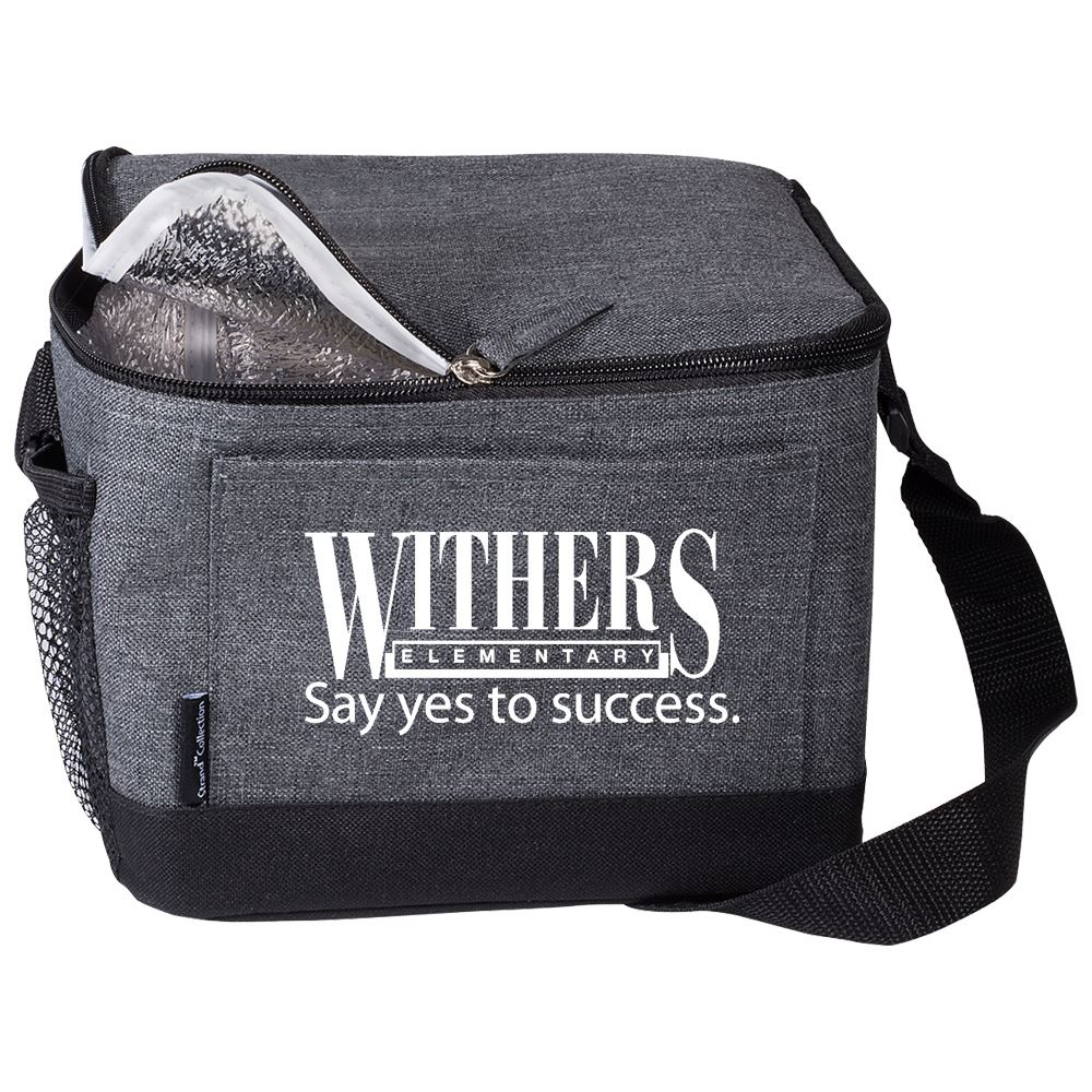 Strand Snow Canvas Lunch Bag - Personalization Available