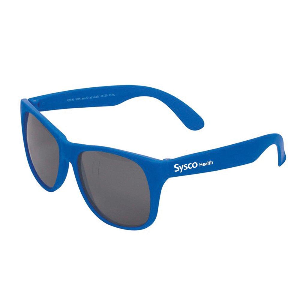 Single Tone Matte Sunglasses - Personalization Available