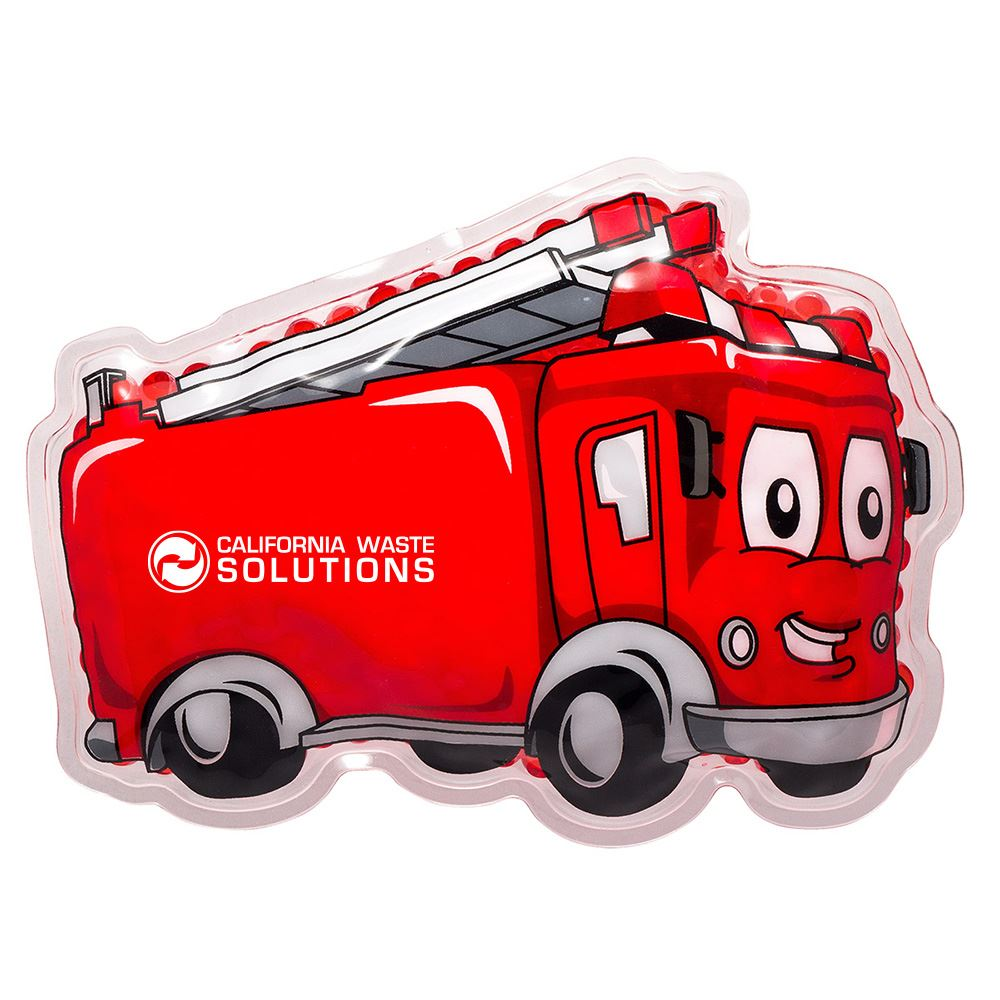 Fire Truck Hot/Cold Pack - Personalization Available