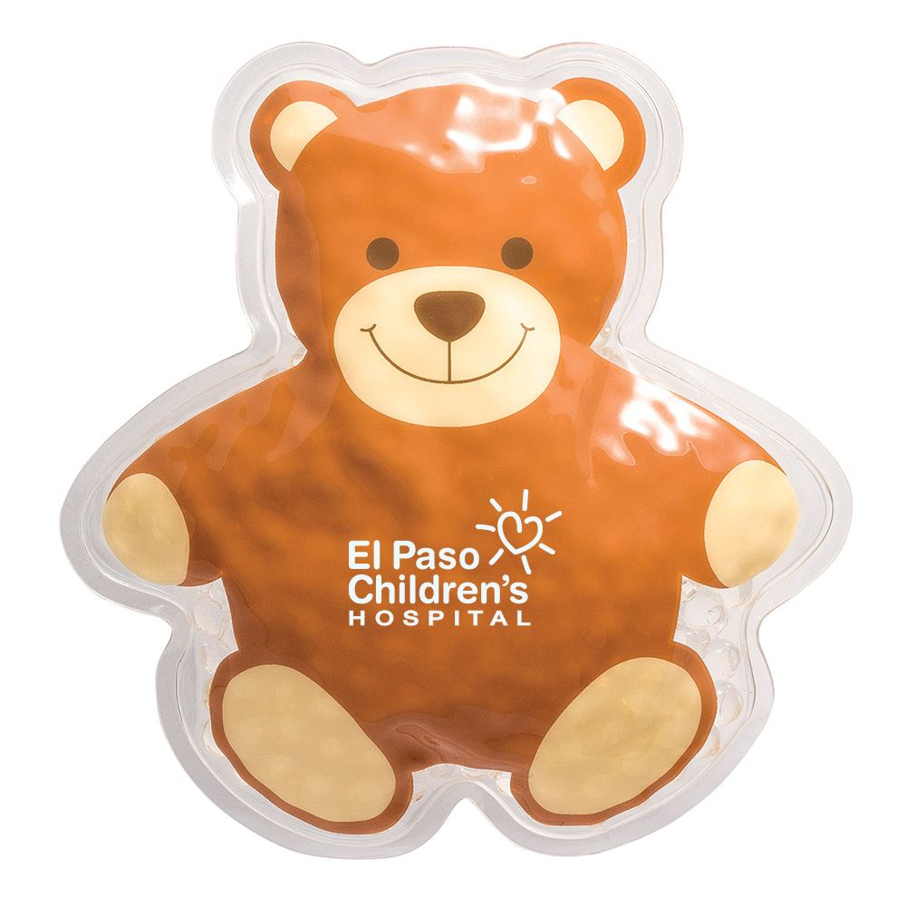 Teddy Bear Hot/Cold Pack Brown - Personalization Available