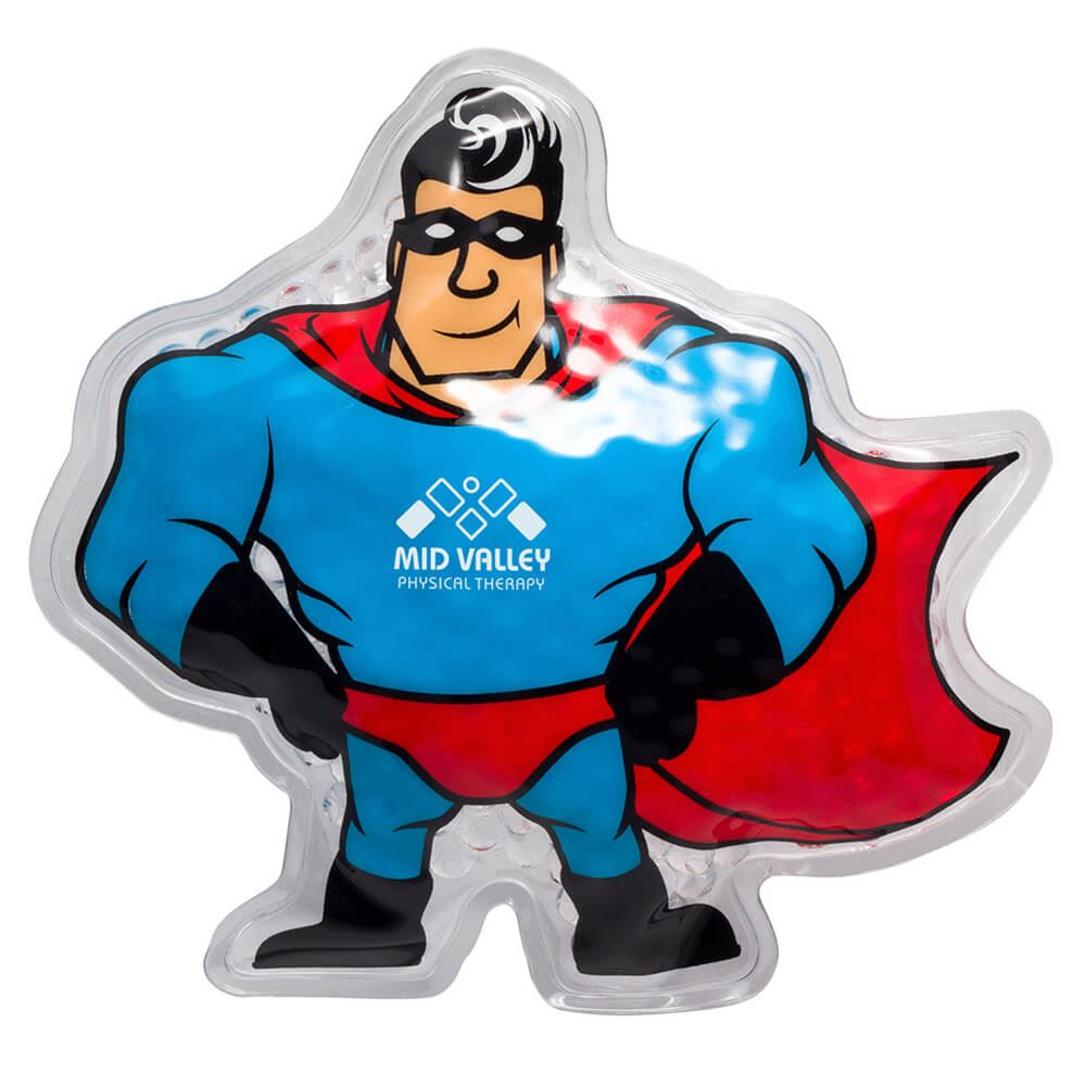 Super Hero Hot/Cold Pack - Personalization Available