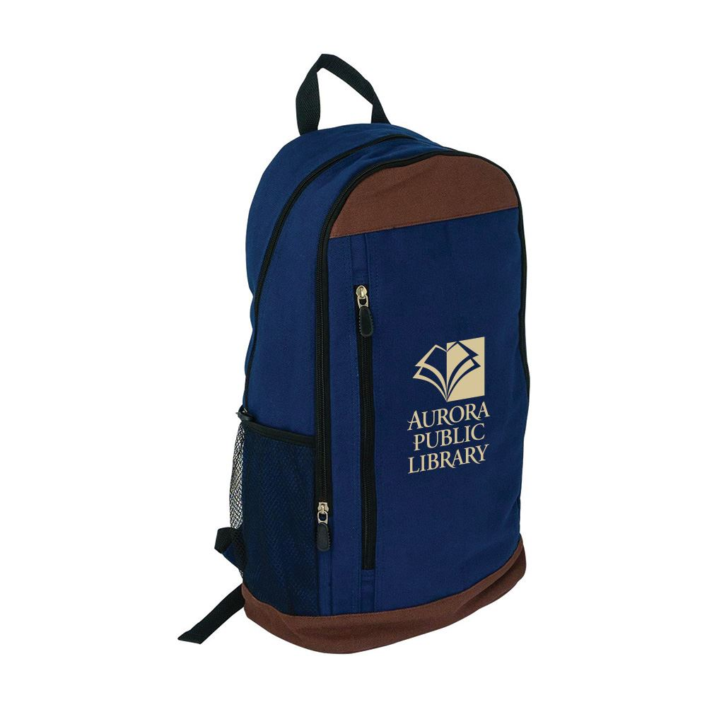 Canvas Backpack - Personalization Available