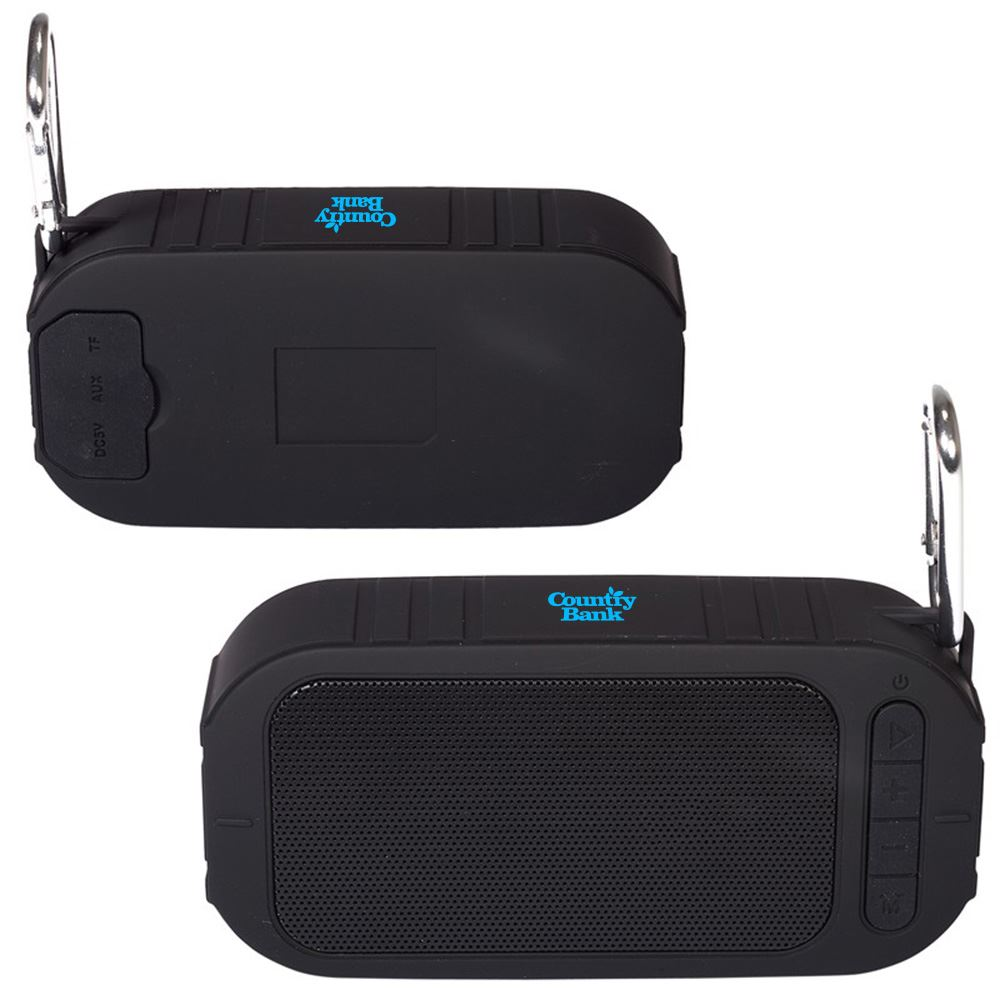 Pool-Side Bluetooth® Water-Resistant Speaker - Personalization Available