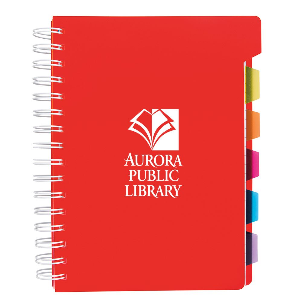Spiral Notebook With Tabs - Personalization Available