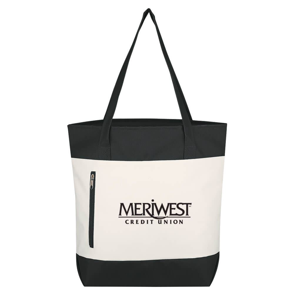 Living Color Tote Bag - Personalization Available