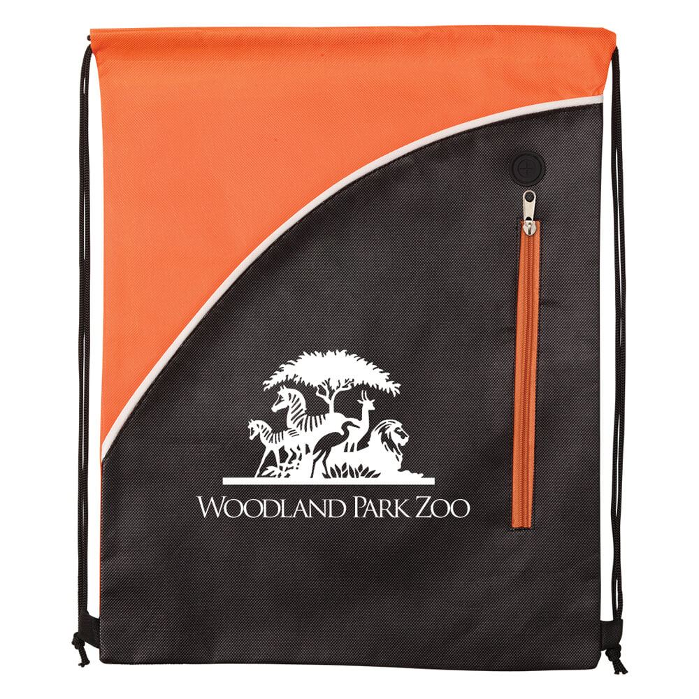 Summit Non-Woven Drawstring Backpack - Personalization Available