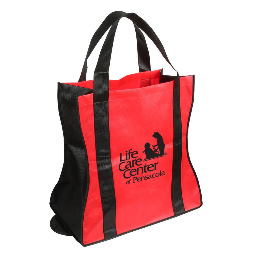 Wave Rider Folding Tote Bag Personalization Available