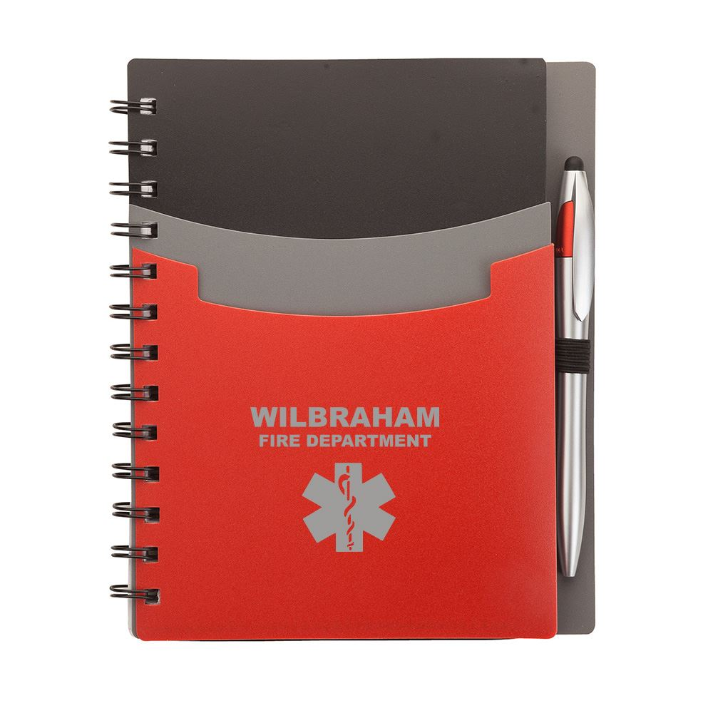 Academy Junior Notebook & Stylus Pen - Personalization Available