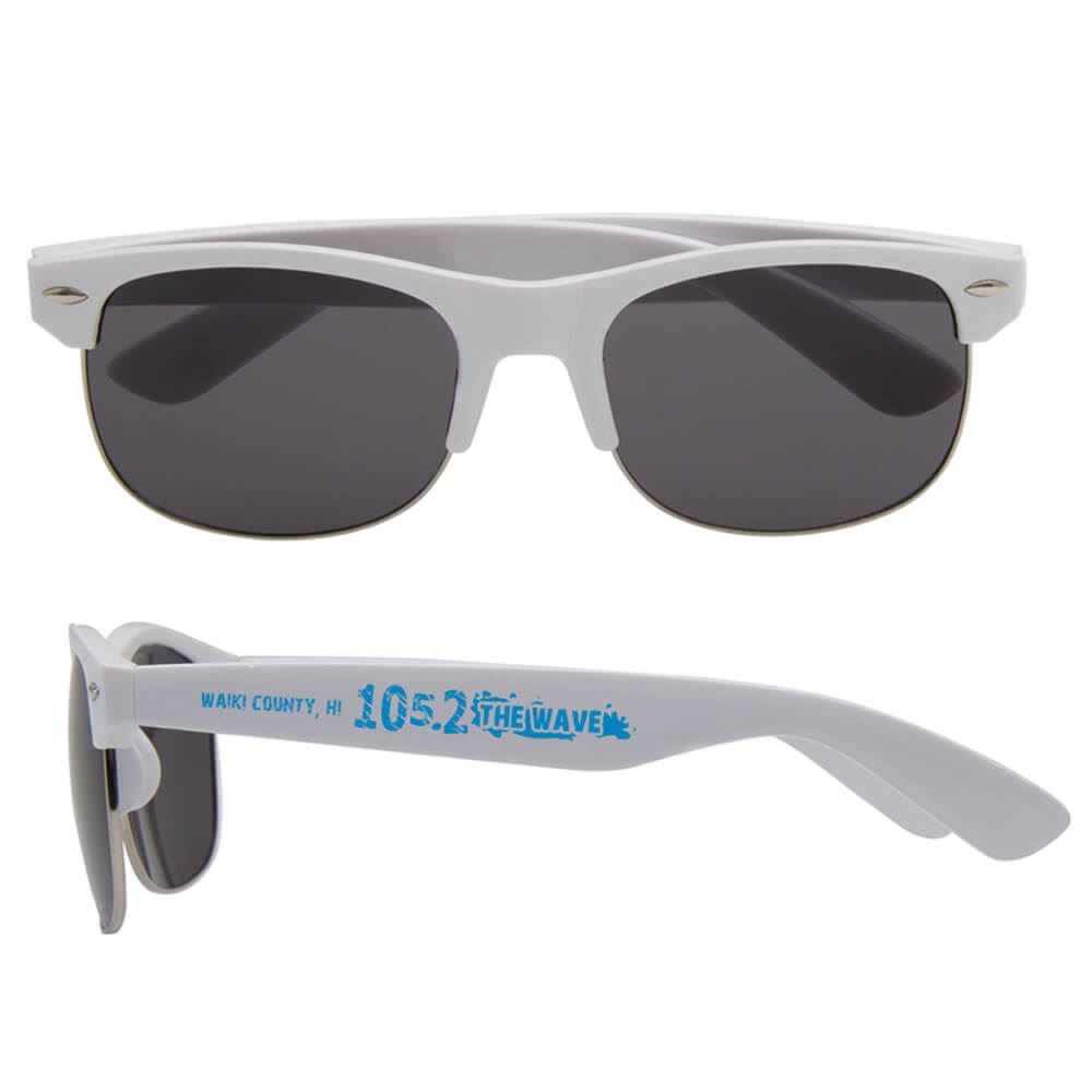 Half Frame Sunglasses - Personalization Available