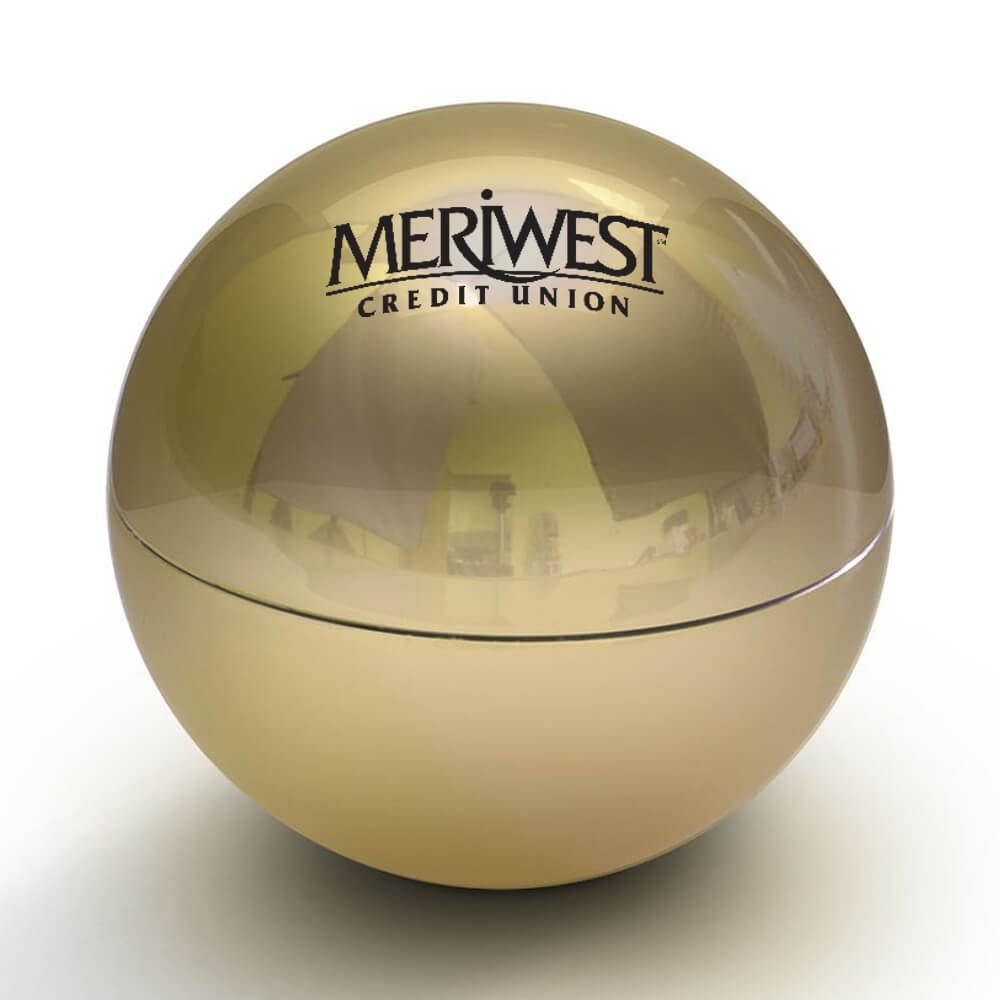 Metallic Lip Balm Ball - Personalization Available