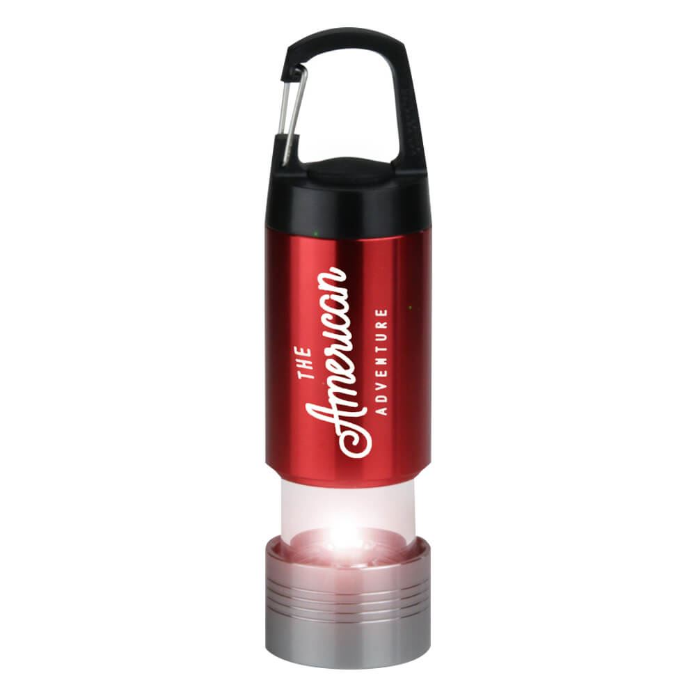 Lantern Light With Carabiner Clip - Personalization Available
