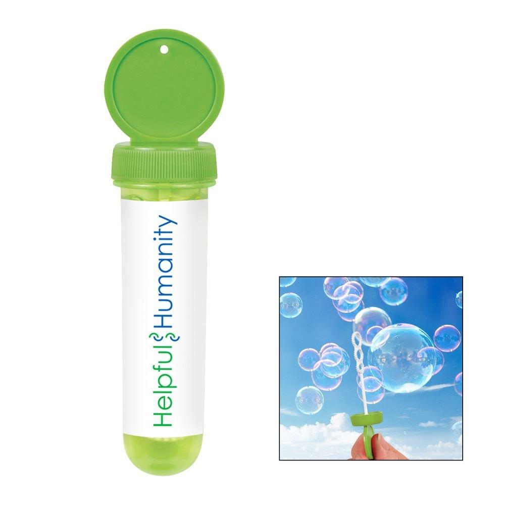 1-oz. Tube Bubble Dispenser - Personalization Available