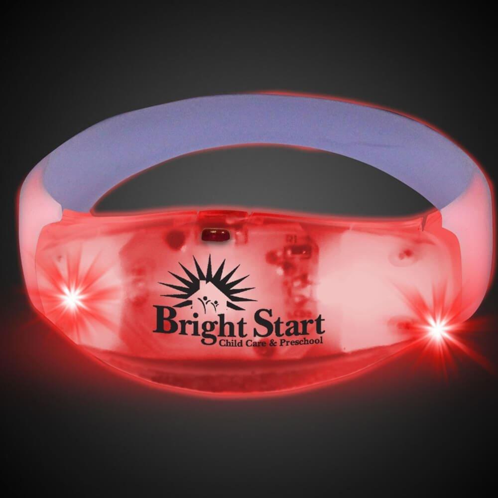 LED Stretchy Bangle Bracelets - Personalization Available