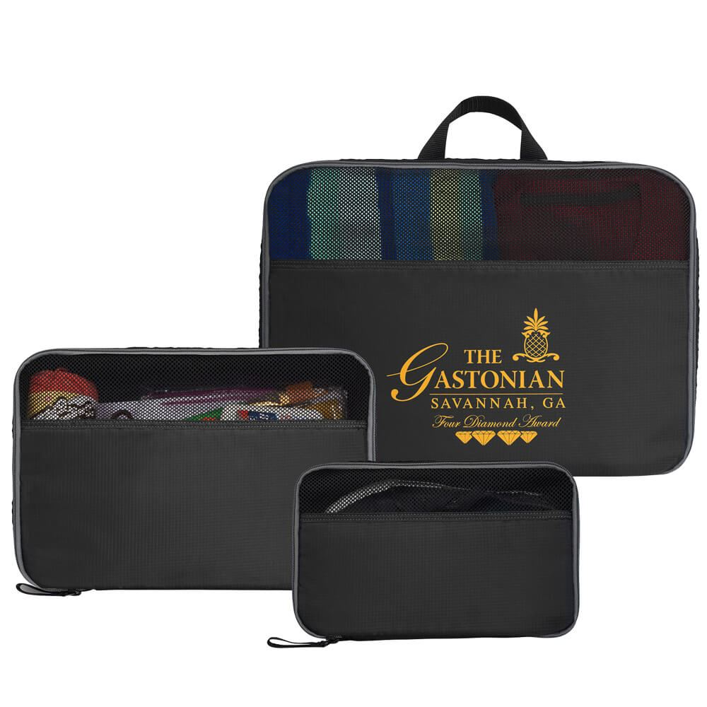 Jetsetter 3-Piece Packing Cube Set - Personalization Available