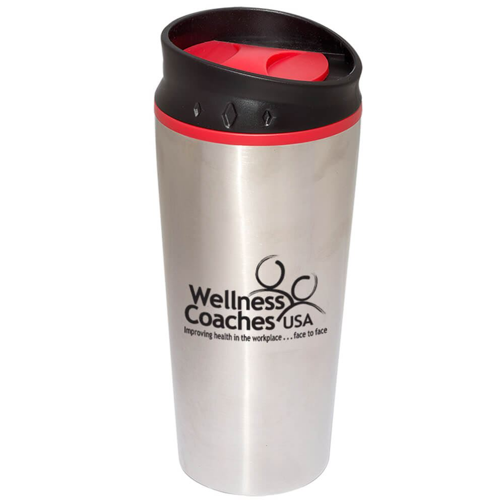 Color Block Top Tumbler 15-oz. - Personalization Available