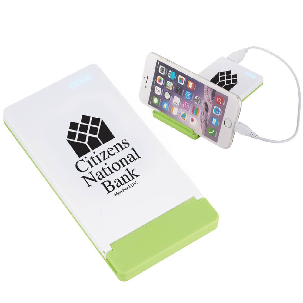 UL® Listed Mag 4000 mAh Power Bank With Phone Stand - Personalization Available