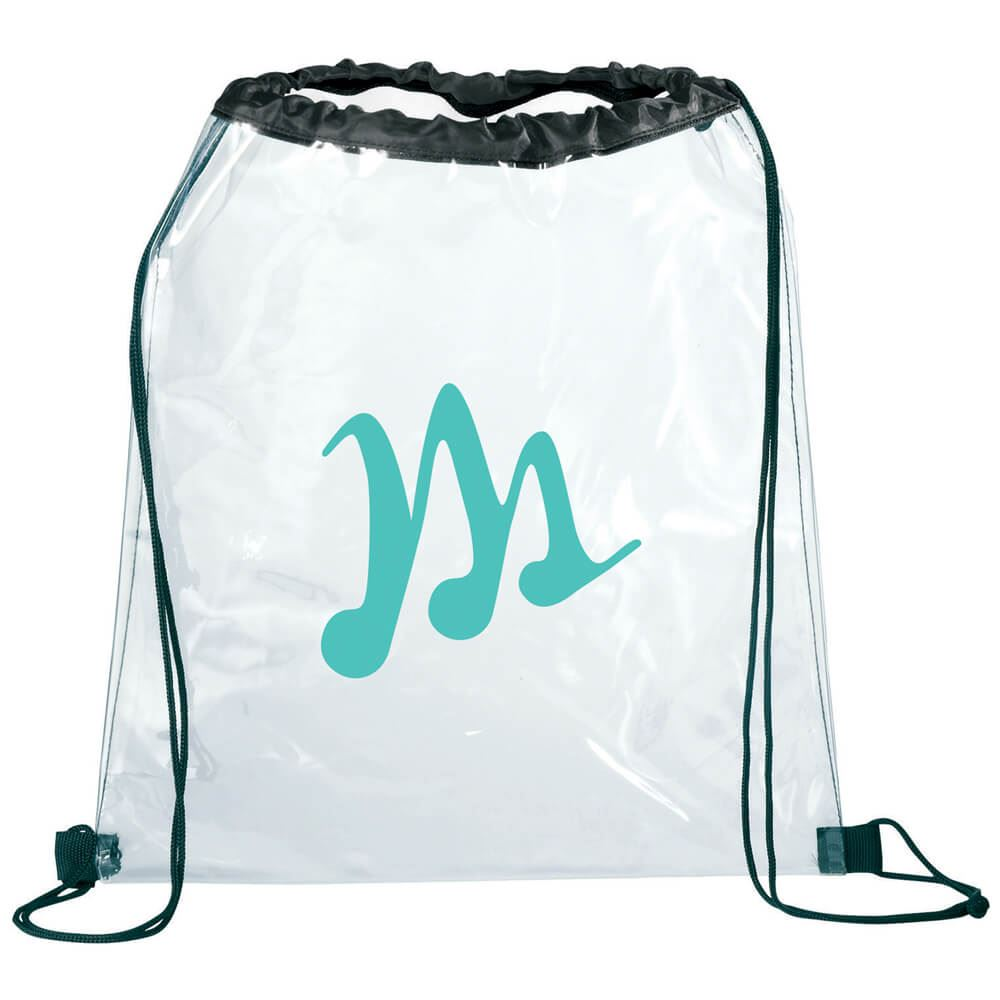 Rally Clear Drawstring Sportspack - Personalization Available