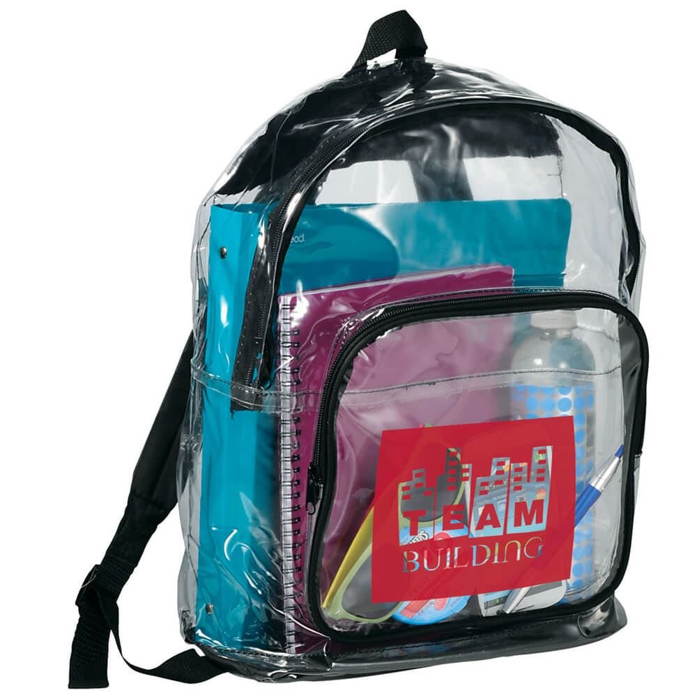 Rally Clear Backpack - Personalization Available