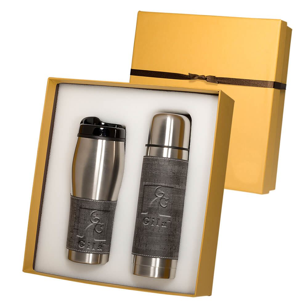 Casablanca™ Thermos & Tumbler Gift Set - Personalization Available