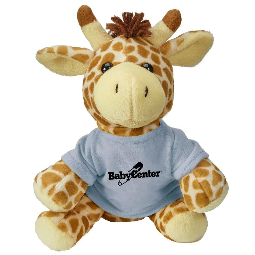Zoofari Beanies Giraffe Personalization Available Positive