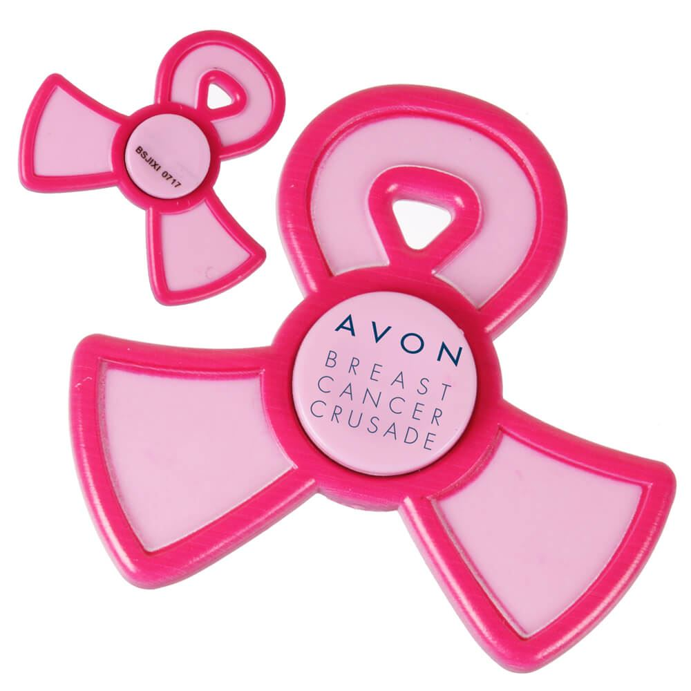 Pink Ribbon Spinner - Personalization Available