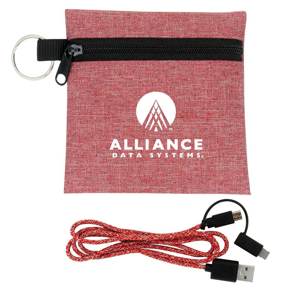 3' Ridge Charging Cable Set - Personalization Available