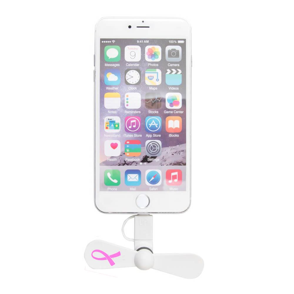 Mini USB Cellphone Fan - Personalization Available