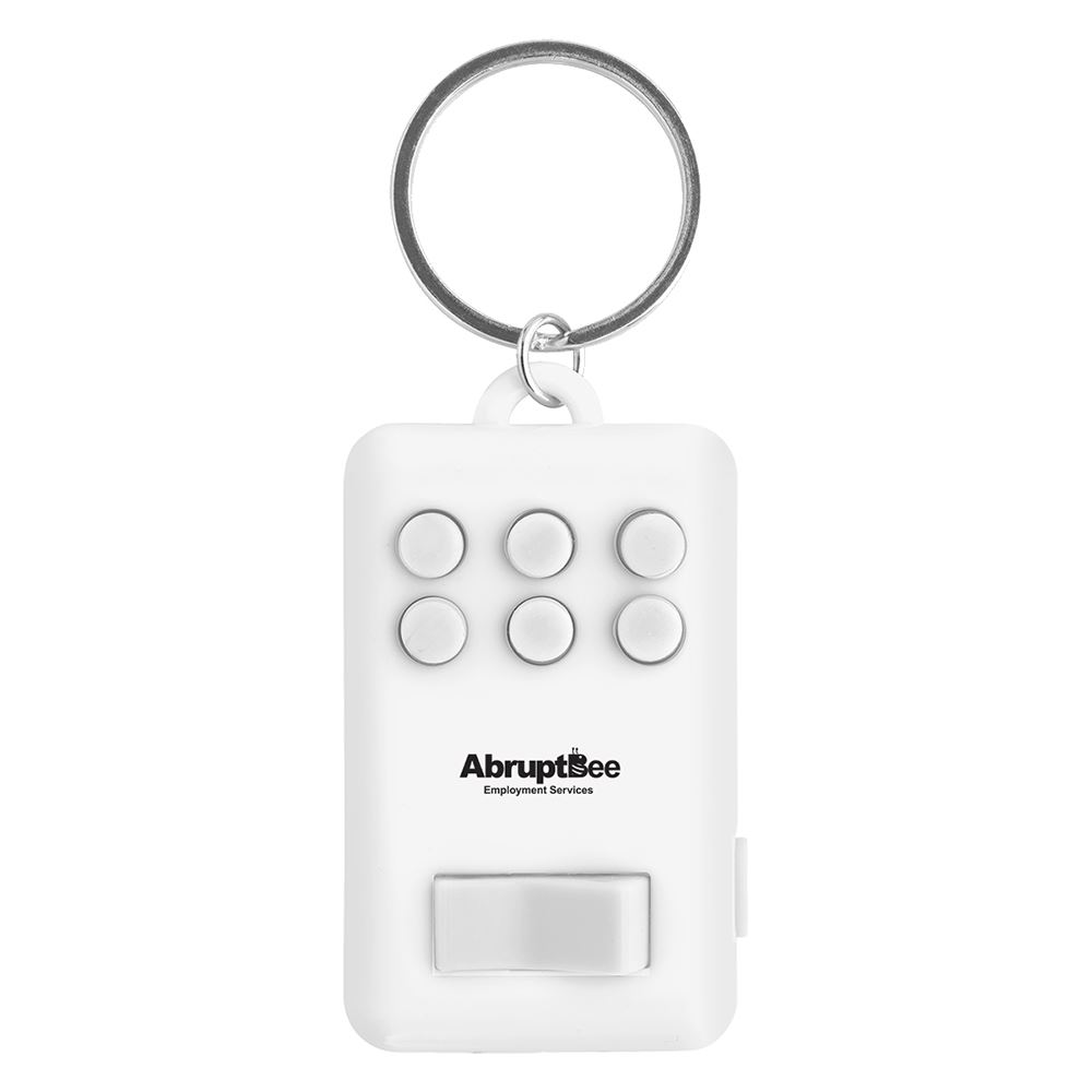 Fun Key Ring With Light - Personalization Available