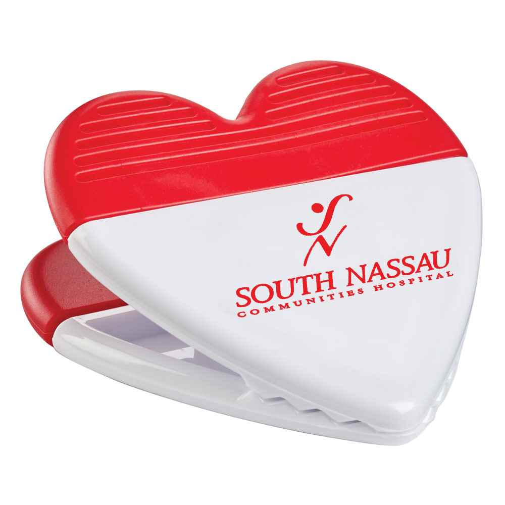 Power Clip Heart - Personalization Available
