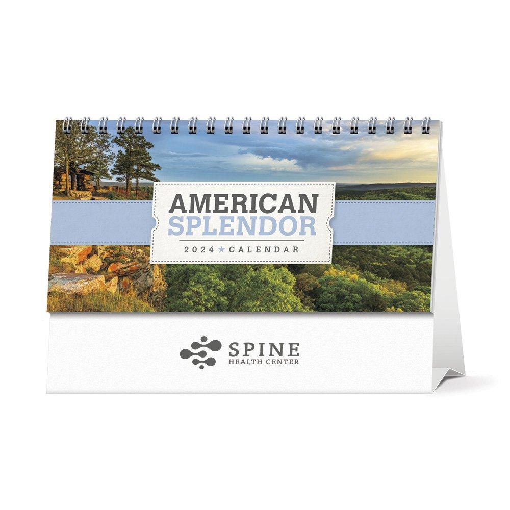 American Splendor 2022 Desk Calendar - Personalization Available