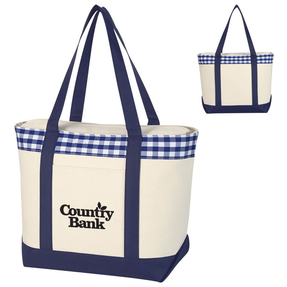 Vineyard Tote Bag - Personalization Available