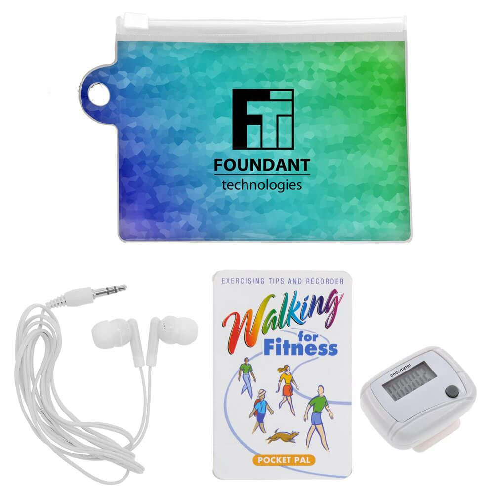 Full-Color Pedometer Pouch - Personalization Available