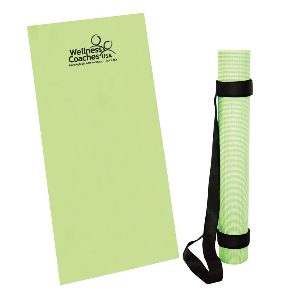 Yoga Mat With Strap - Personalization Available