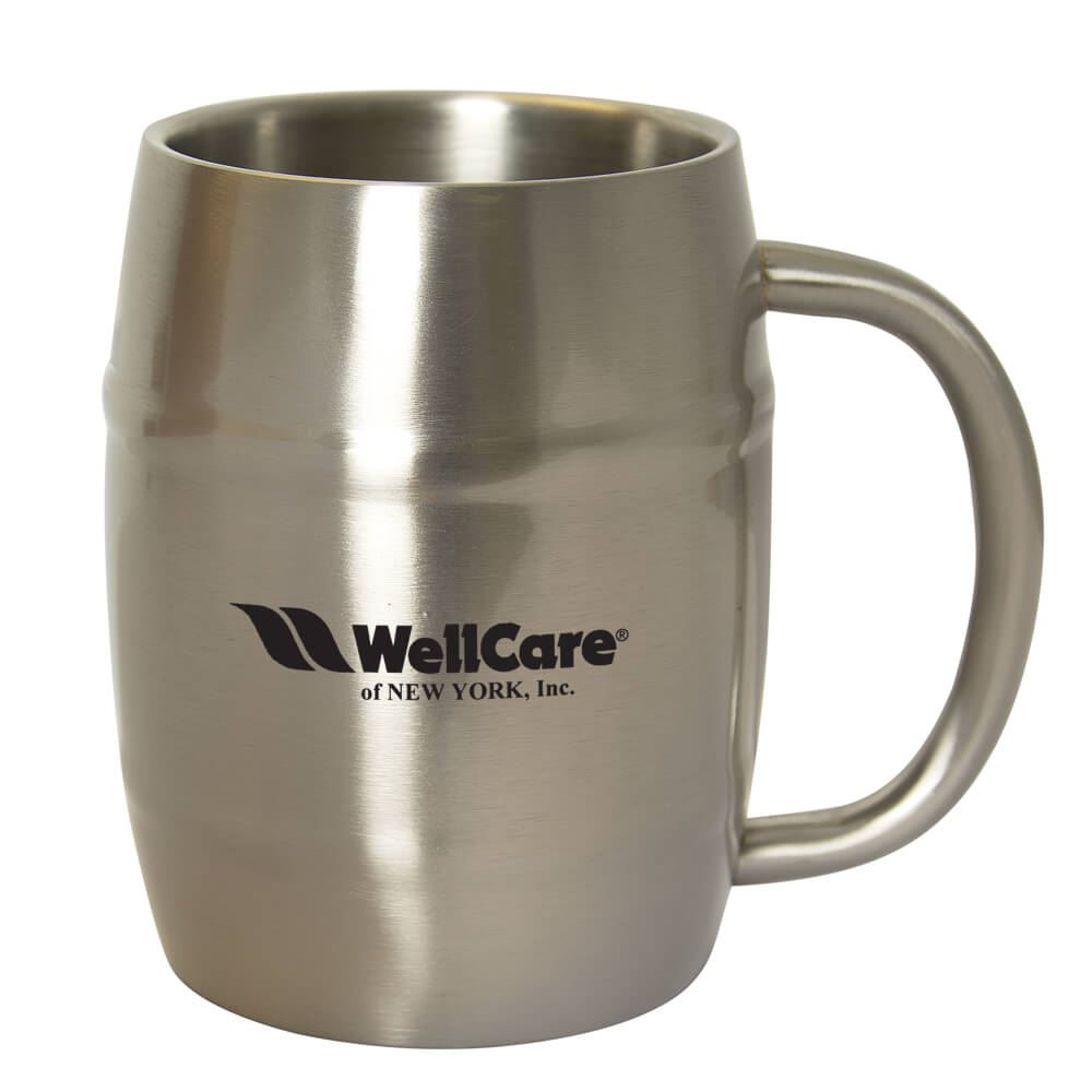 Brewmaster Barrel Mug 16-oz. - Personalization Available