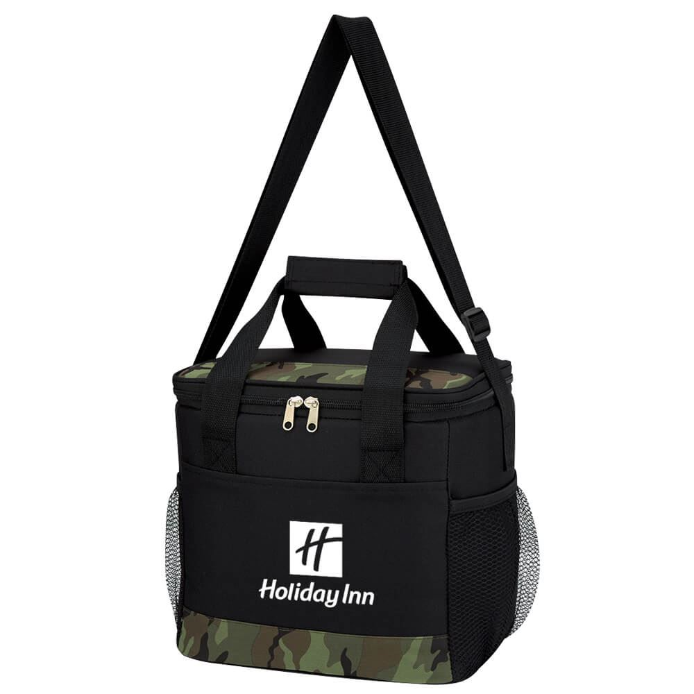 Camouflage Accent Kooler Bag - Personalization Available