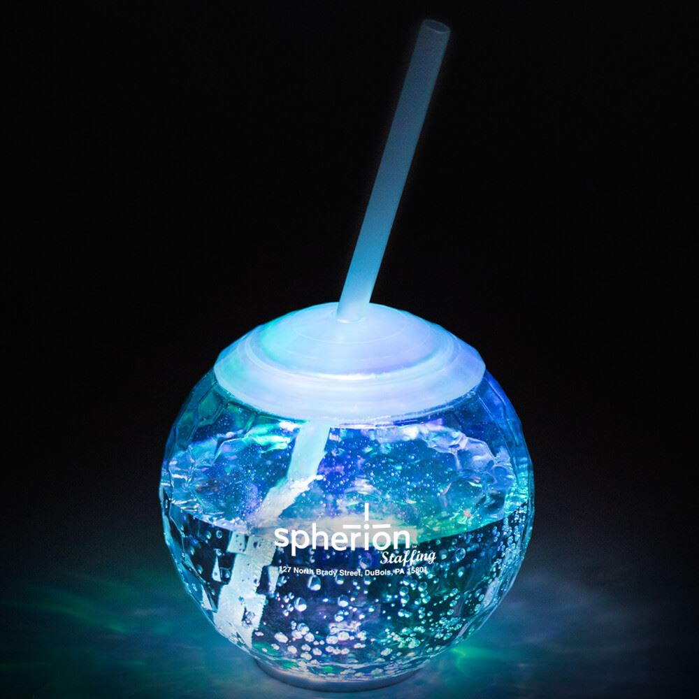 Light-Up Ball Tumbler 20-oz. - Personalization Available