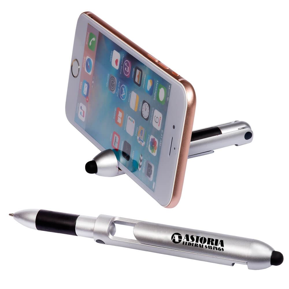 Robot Pen With Stylus Phone Holder - Personalization Available